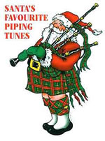 Santa's Favourite Piping Tunes Christmas Book