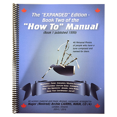 """How To"" Manual - Expanded Edition by PM Archie Cairns"