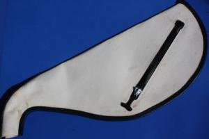 Sheepskin Pipe Bag by Lee and Sons (NO ZIPPER)