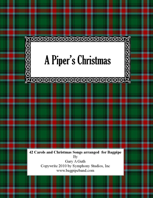 A Piper's Christmas Book & CD